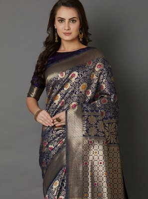 Embroidered Festival Designer Saree