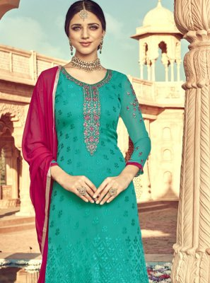 Embroidered Festival Designer Suit