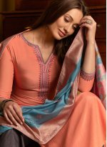 Embroidered Festival Palazzo Salwar Suit