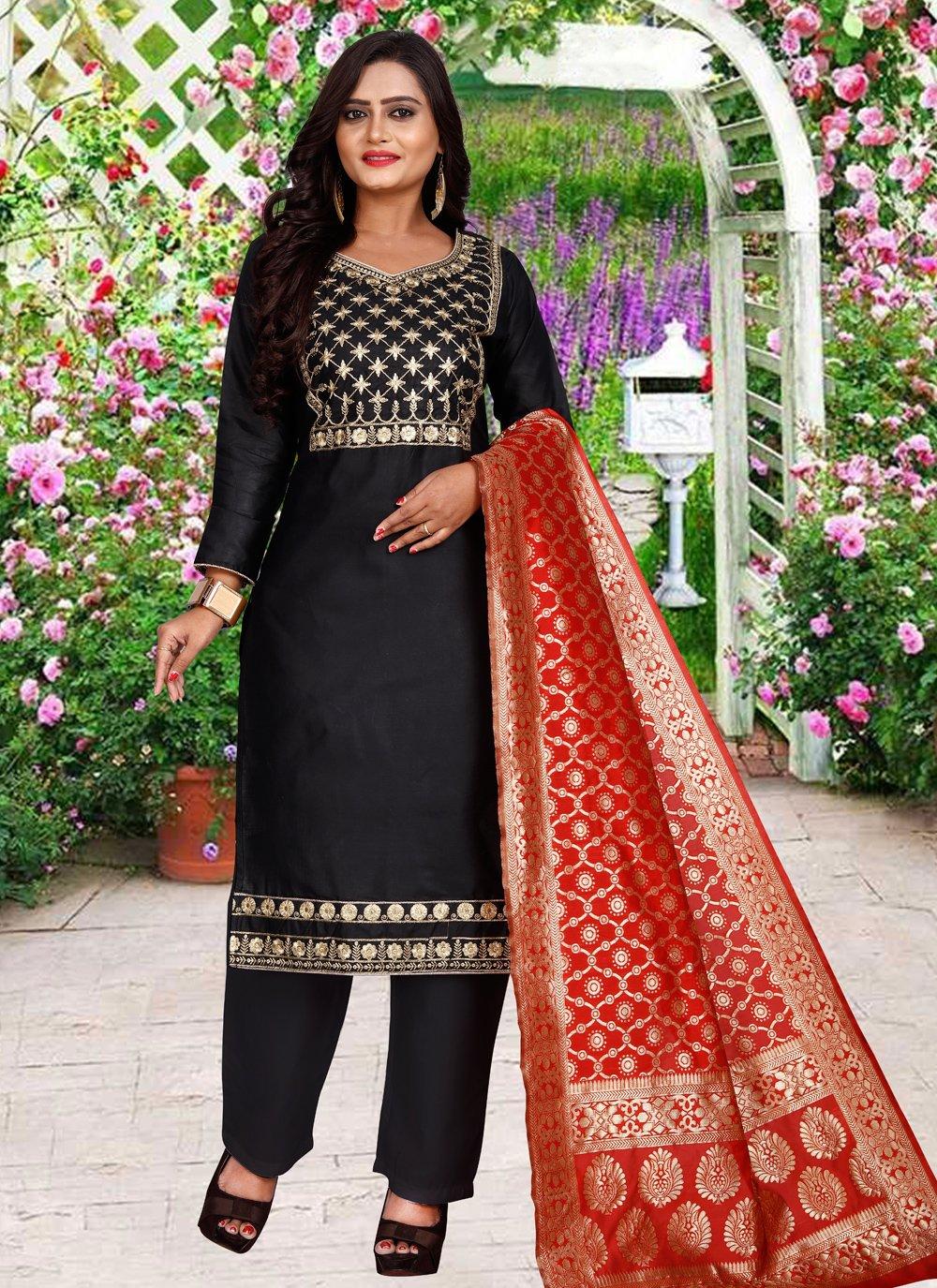 Embroidered Festival Salwar Suit