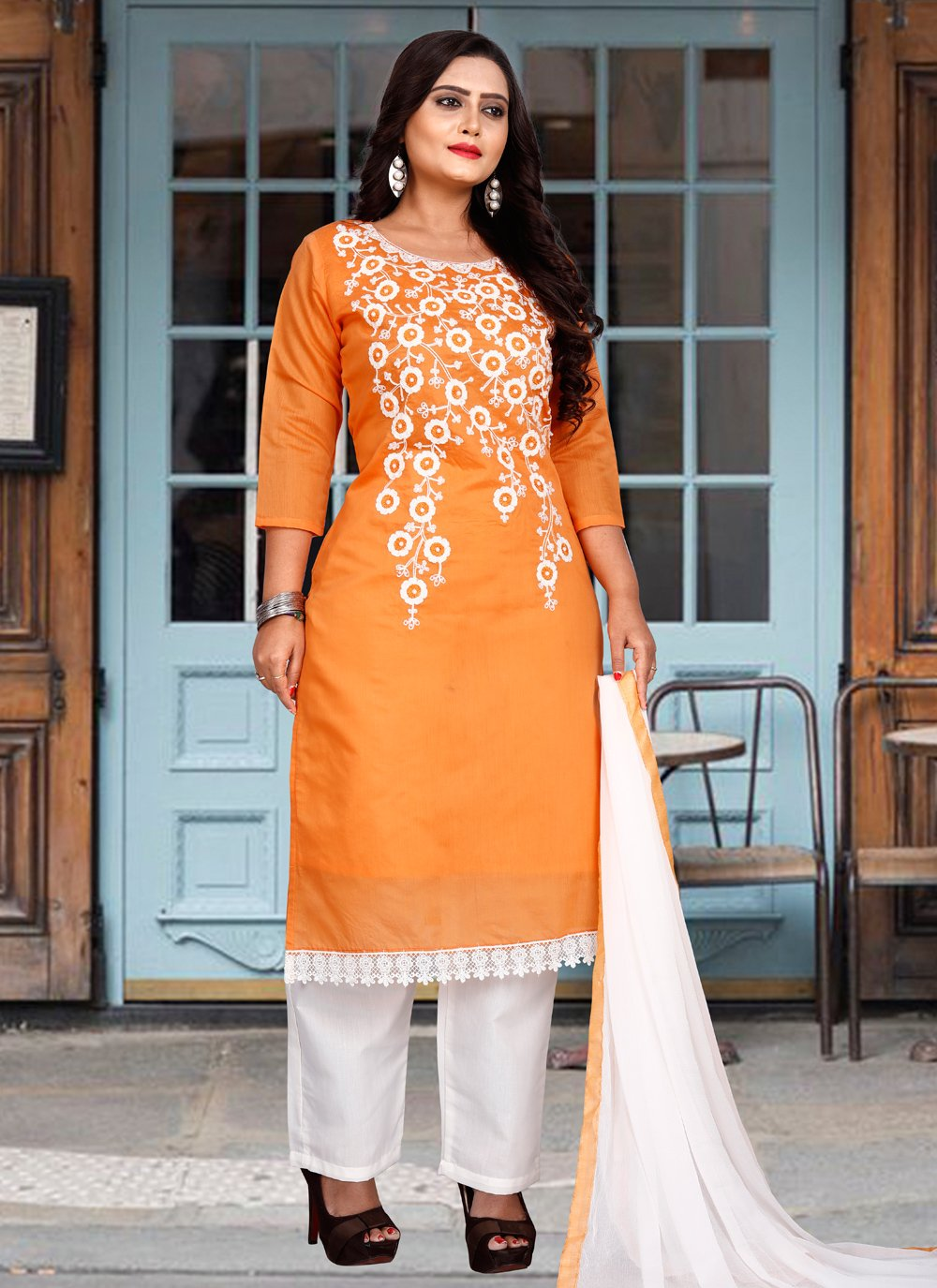 Embroidered Festival Trendy Salwar Suit