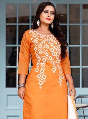 Embroidered Festival Trendy Salwar Suit