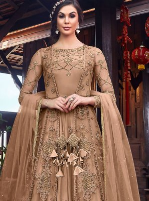 Embroidered Floor Length Anarkali Salwar Suit