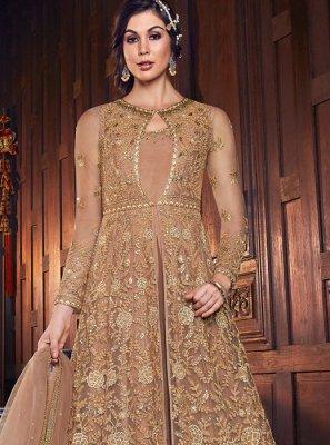 Embroidered Long Length Anarkali Salwar Suit
