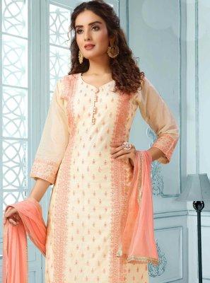 Embroidered Multi Colour Designer Salwar Suit