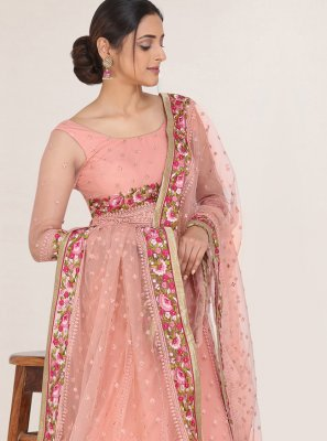 Embroidered Net Bollywood Lehenga Choli
