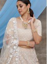 Embroidered Net Trendy Designer Lehenga Choli