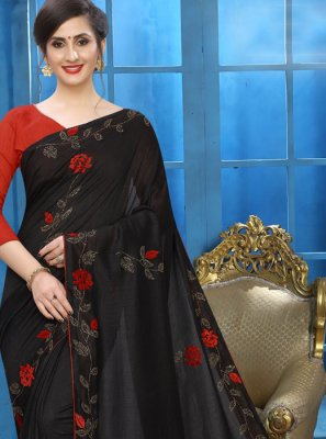 Embroidered Party Classic Designer Saree