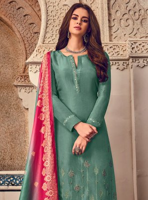 Embroidered Party Designer Salwar Kameez