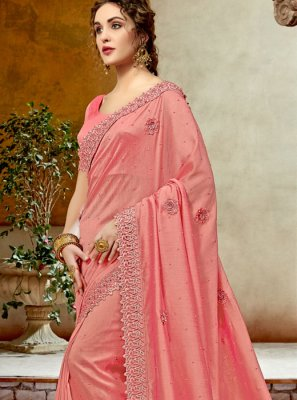 Embroidered Party Designer Traditional Saree