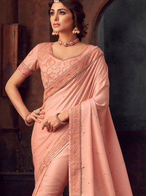 Embroidered Party Traditional Saree