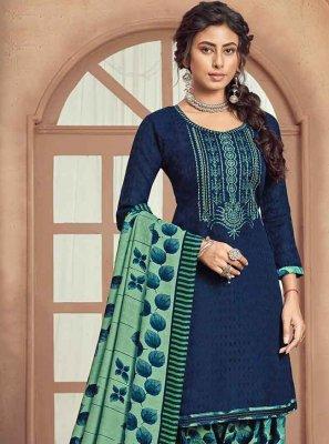 Embroidered Pashmina Trendy Patila Salwar Suit