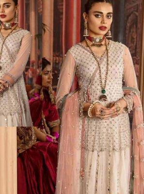 Embroidered Reception Anarkali Salwar Kameez