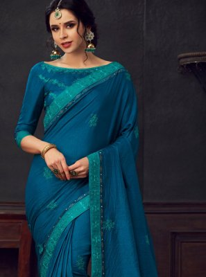 Embroidered Reception Classic Saree