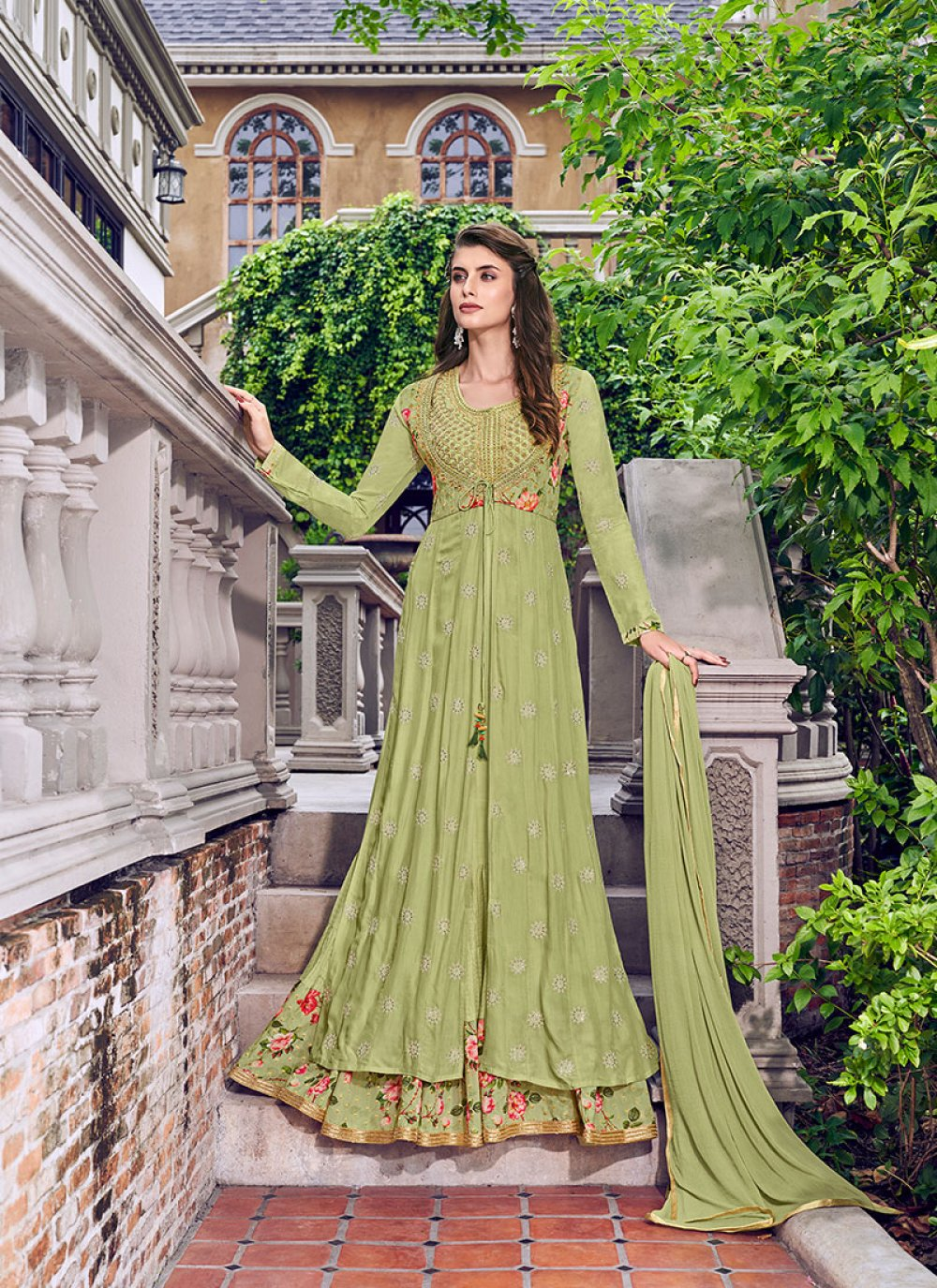 Embroidered Reception Designer Salwar Kameez