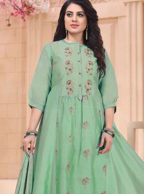Embroidered Reception Designer Salwar Suit