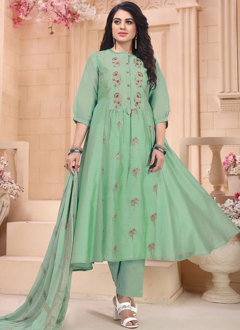 Embroidered Reception Designer Salwar Suit