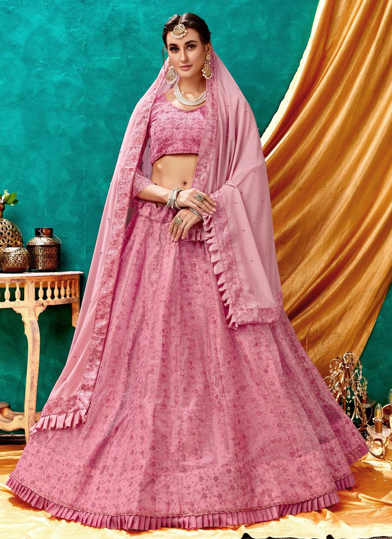Embroidered Reception Lehenga Choli