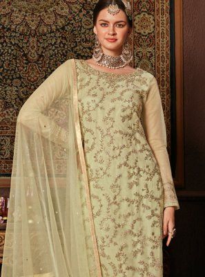 Embroidered Reception Pant Style Suit