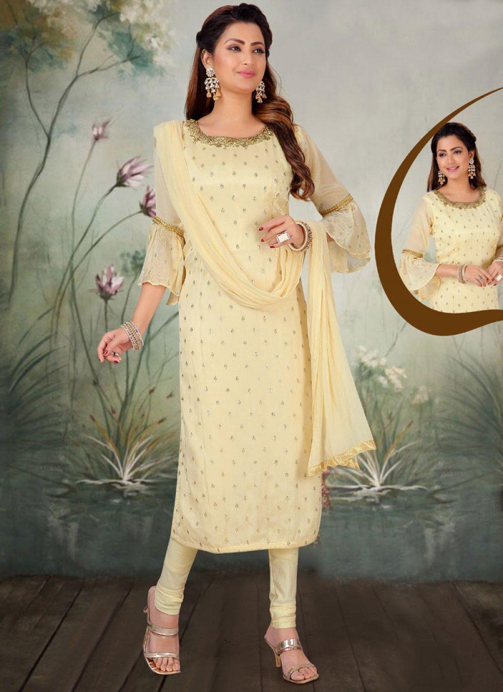 Embroidered Reception Salwar Kameez