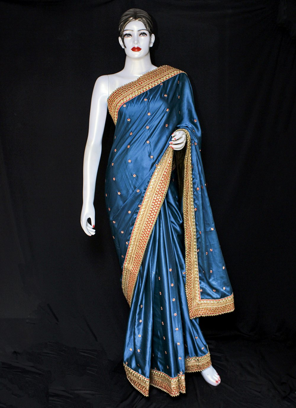 Embroidered Sangeet Designer Saree