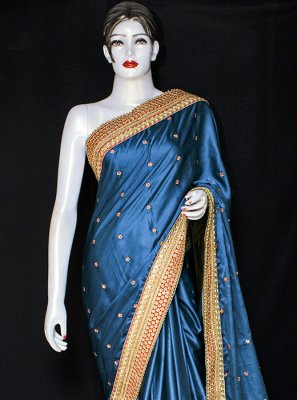 Embroidered Sangeet Designer Saree