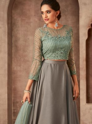 Embroidered Sangeet Salwar Suit