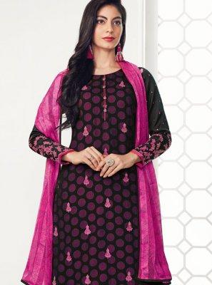 Embroidered Sangeet Salwar Suit