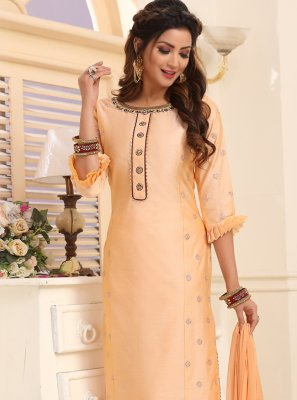 Embroidered Silk Trendy Salwar Kameez