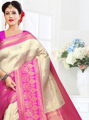 Embroidered Traditional Saree