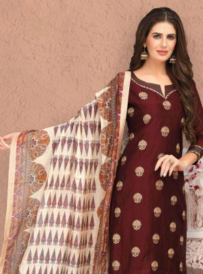 Embroidered Trendy Churidar Salwar Kameez