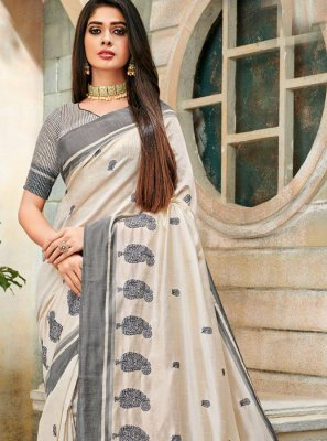 Embroidered Trendy Saree