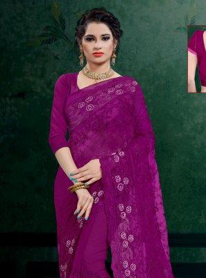 Embroidered Wedding Designer Saree