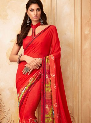 Fancy Casual Printed Saree