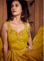 Fancy Fabric Designer Gown