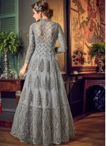 Fancy Fabric Desinger Anarkali Salwar Suit