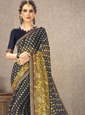 Fancy Fabric Printed Classic Saree