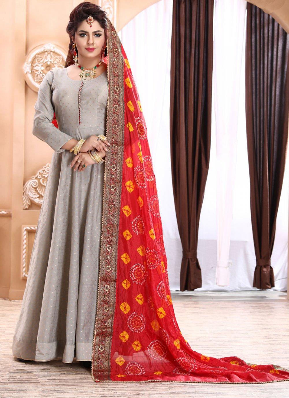 Fancy Reception Readymade Designer Gown
