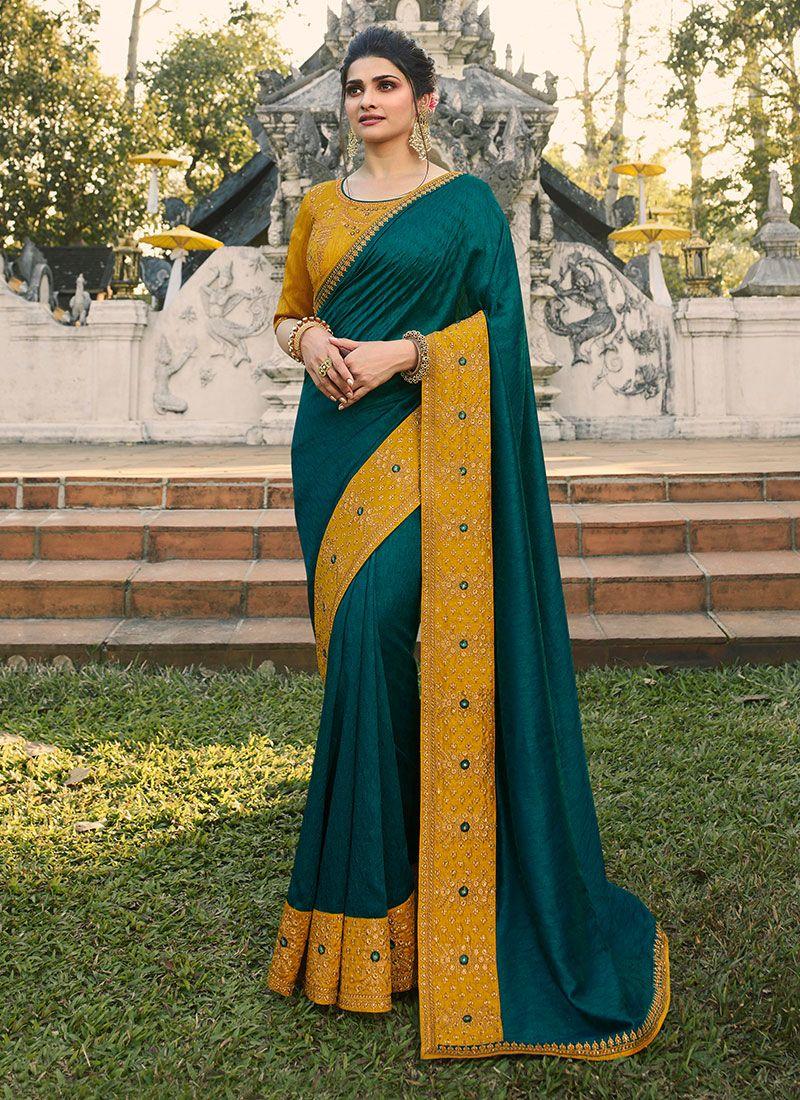 Faux Chiffon Wedding Designer Saree