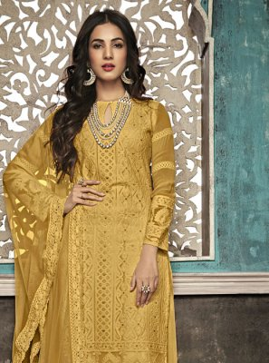 Faux Georgette Party Salwar Suit