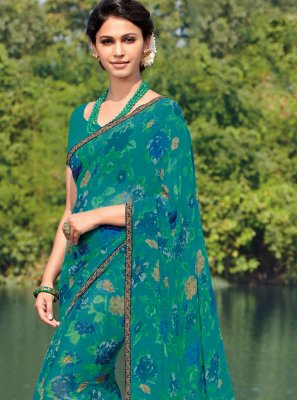 Georgette Casual Casual Saree