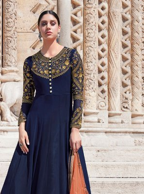 Georgette Designer Floor Length Salwar Suit