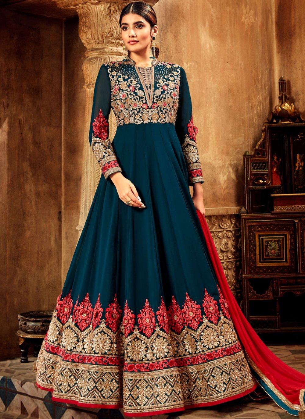 Georgette Designer Salwar Kameez