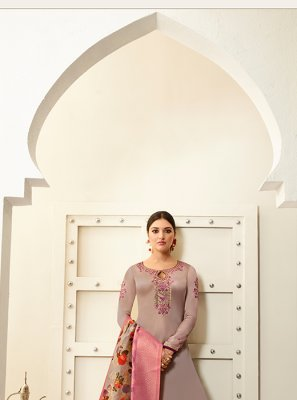 Georgette Designer Saree in Pink