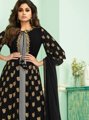 Georgette Reception Anarkali Salwar Suit