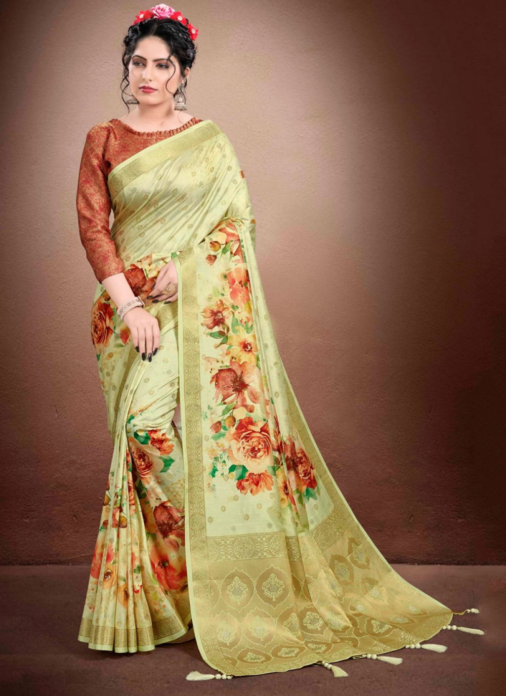 Georgette Reception Classic Designer Saree