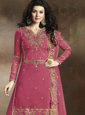 Georgette Reception Designer Palazzo Suit