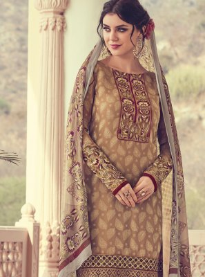 Georgette Thread Designer Salwar Suit