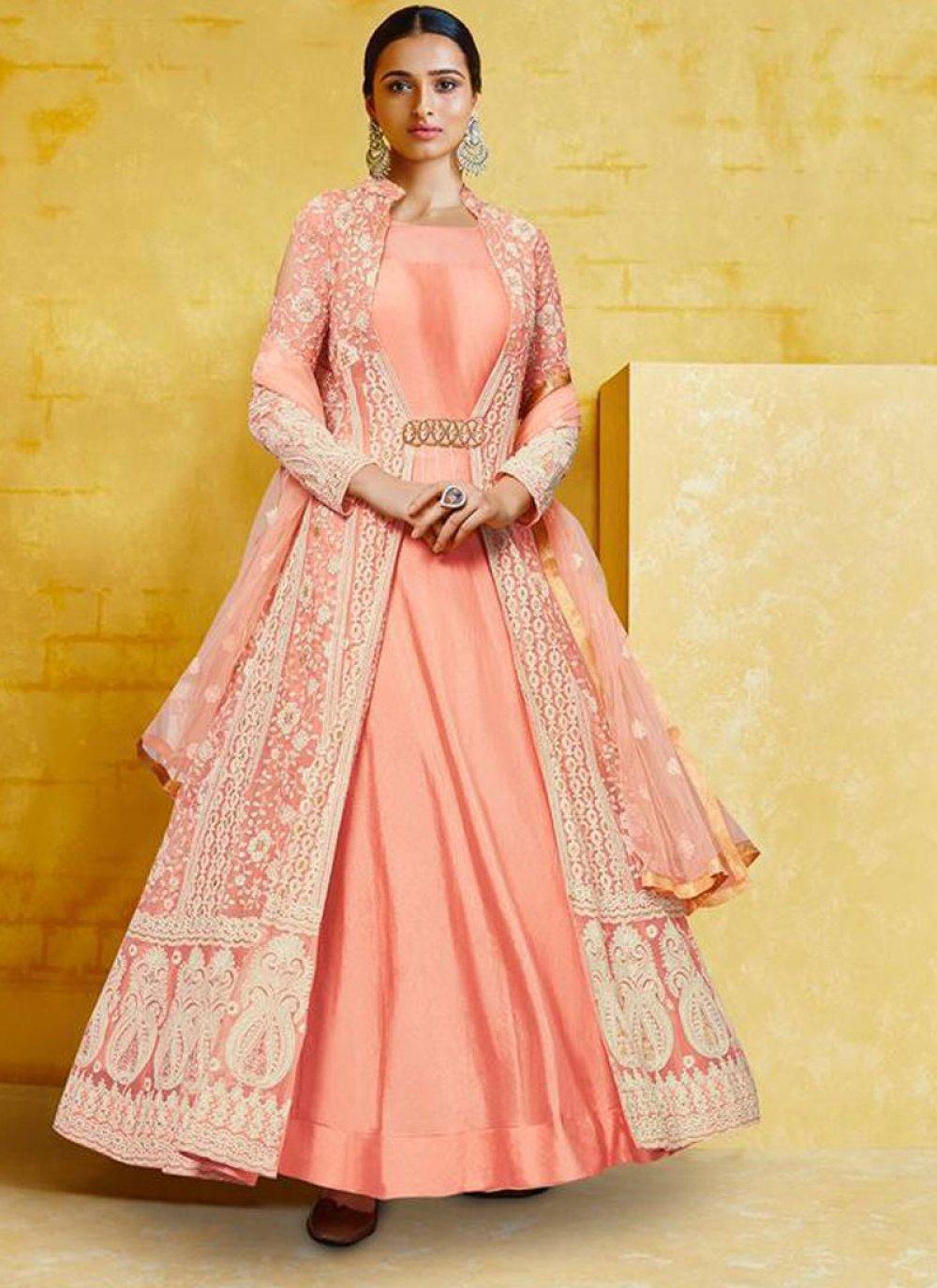 Georgette Wedding Anarkali Salwar Kameez