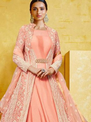 Georgette Wedding Anarkali Salwar Kameez